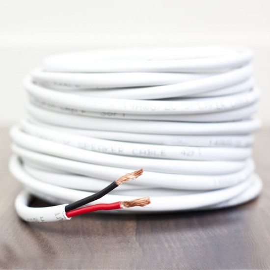 14 AWG Pure Copper Stranded Speaker Wire 2 Conductor