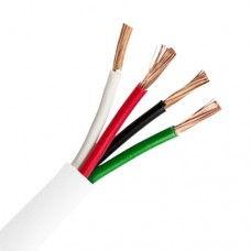 14 AWG Pure Copper Stranded Speaker Wire 4 Conductor