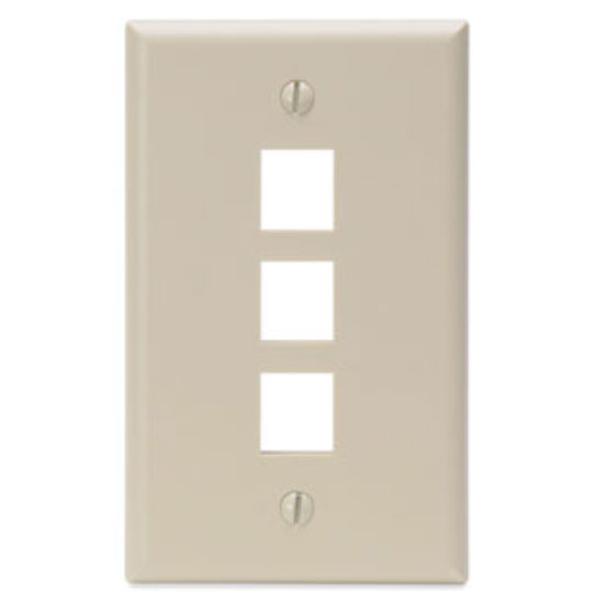 Wall Plates (Single Gang Leviton Style) Pack Of 15