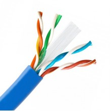 1000ft Cat6 Plenum Bare Copper 23AWG Ethernet Cable