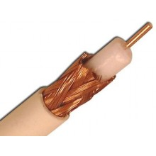 Coaxial RG59/U Shielded Plenum Solid Bare Copper Cable