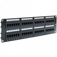 RJ45 CAT5E Networking Patch Panels Universal Termination