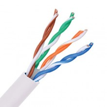 1000ft Cat6 Plenum CMP Rated with 23AWG Solid Conductor Ethernet Cable