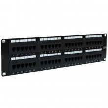 CAT6 RJ45 Networking Patch Panels Universal Termination