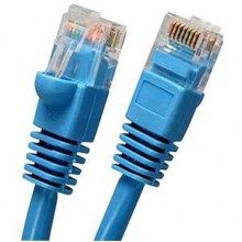 Cat6 UTP 550MHz Patch Cable with Molded Boots & Spline