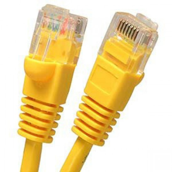 Cat6 UTP 550MHz Patch Cable yellow