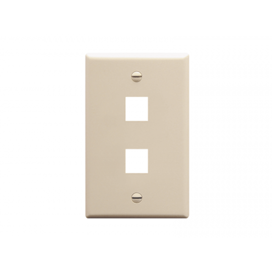 Wall Plates Single Gang Leviton Style Vertex Cables