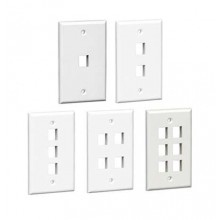 Leviton Style Wall Plates  - VERTEXCABLES